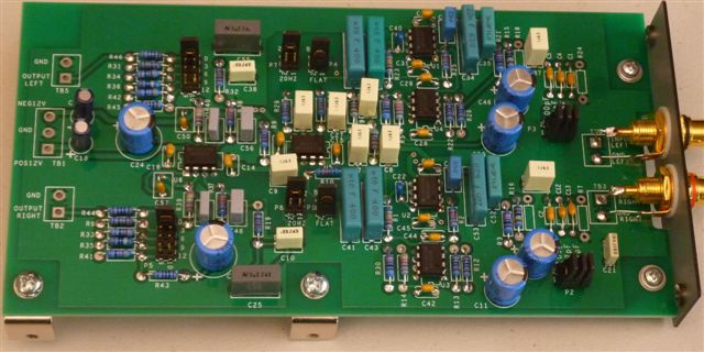 Assembled PHONOZ Phono Preamp