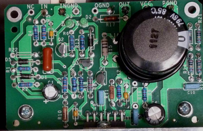 Completed Amplifier Module