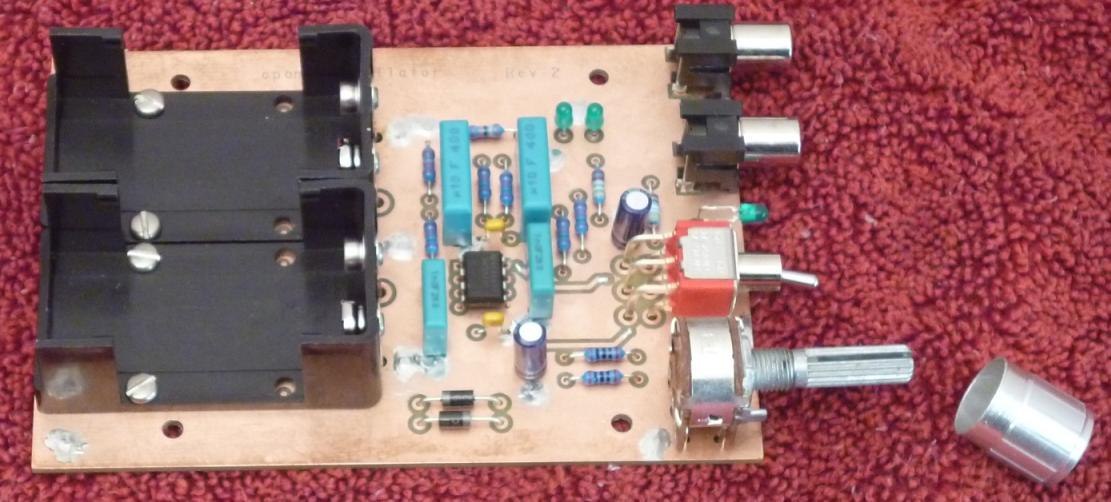 1 kHz oscillator kit circuit board